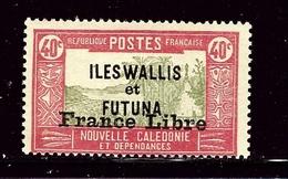 Wallis And Futuna 105 MNH 1941 Overprint - France (former Colonies & Protectorates)