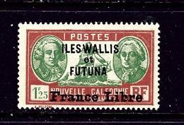 Wallis And Futuna 118 MHH 1941 Overprint - France (former Colonies & Protectorates)