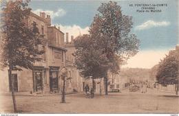 85-FONTENAY LE COMTE-PLACE DU MARCHE-N°R2047-E/0103 - Fontenay Le Comte