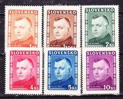Slovacchia 1945 Serie Completa Nuova MLLH - Ongebruikt