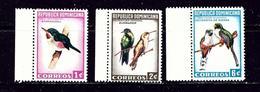 Dominican Republic 602-04 MNH 1964 Birds - Dominican Republic
