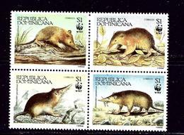 Dominican Rep 1158 MH 1994 Block Of 4 - Dominican Republic