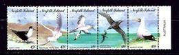 Norfolk Is 565 MNH 1994 Seabirds Strip Of 5 - Norfolk Island