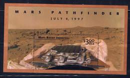 U.S. 3178b MNH 1997 Mars Rover Sojourner S/S - Plate Blocks & Sheetlets