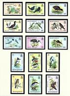 Montserrat 524-35 MNH 1984 Birds Definitive Set - Montserrat