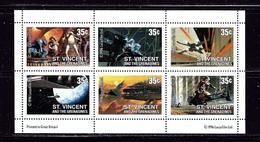 St Vincent 2269A MNH 1996 Star Wars Sheet Of 6 - St.Vincent (1979-...)