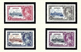 Antigua 77-80 MNH 1935 KGV Silver Jubilee - Antigua & Barbuda (...-1981)