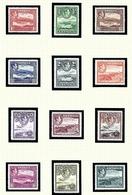 Antigua 84-95 MNH 1938-51 Definitive Set - Antigua & Barbuda (...-1981)