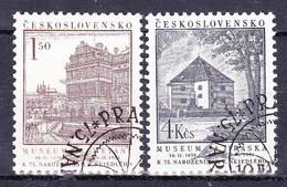 Tchécoslovaquie 1953 Mi 778-9 (Yv 684-5), Obliteré - Used Stamps