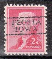 USA Precancel Vorausentwertung Preo, Locals Iowa, Peosta 728 - Vereinigte Staaten