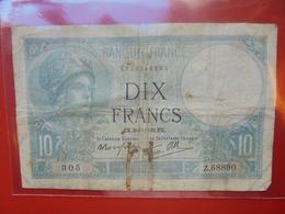 FRANCE 10 FRANCS 6-4-1939 CIRCULER (F.1) - 1871-1952 Antichi Franchi Circolanti Nel XX Secolo