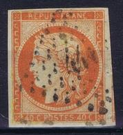 France: Yv 5 1850 Obl./Gestempelt/used Nice Margins  Repaired - 1849-1850 Cérès