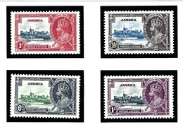 Jamaica 109-12 MNH 1935 KGV Silver Jubilee - Jamaica (...-1961)
