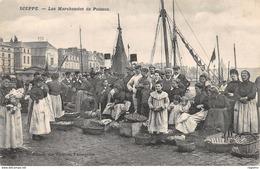 76-DIEPPE-LES MARCHANDES DE POISSON-N°R2048-A/0077 - Dieppe
