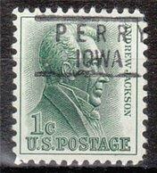 USA Precancel Vorausentwertung Preo, Locals Iowa, Perry 818 - Vereinigte Staaten