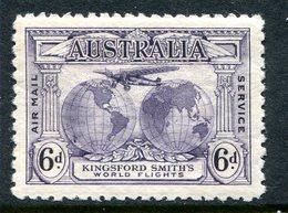 Australia 1931 Kingsford Smith's Flights - 6d Violet MNH (SG 123) - Mint Stamps
