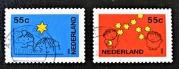 NOËL & NOUVEL AN 1995 - OBLITERES - YT 1525/26 - MI 1561/62 - 1980-... (Beatrix)