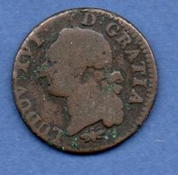 Louis XVI  - 1 Sol 1788 D  - état  B+ - 987-1789 Monnaies Royales