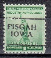 USA Precancel Vorausentwertung Preo, Locals Iowa, Pisgah 701 - Vereinigte Staaten