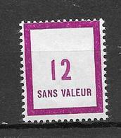FRANCE FICTIF N°F130*  Mnh    Charnière Enlevée Très Propre (voir Le Scan) - Fictifs
