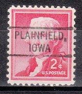 USA Precancel Vorausentwertung Preo, Locals Iowa, Plainfield 804 - Vereinigte Staaten
