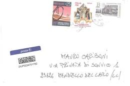 AFFRANCATURA MISTA  POSTA1 - 6. 1946-.. Repubblica