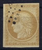 France Col Gen: Yv Nr 11 Bistre Brun Obl./Gestempelt/used - Ceres