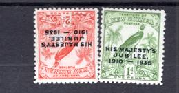 1935 - NEW GUINEA - Mi. Nr. 125/127 -  LH/NH -  - (K-EA-361388.4) - Papouasie-Nouvelle-Guinée