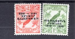 1935 - NEW GUINEA - Mi. Nr. 125/127 -  LH/NH -  - (K-EA-361388.4) - Papua Nuova Guinea