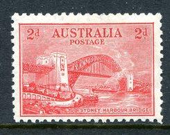 Australia 1932 Opening Of Sydney Harbour Bridge - 2d Scarlet - Wmk. CofA - HM (SG 144) - Mint Stamps
