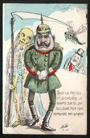 Illustrateur Politique Satirique Mille, Avec La France Et Le Cholera... - Mille