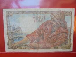 FRANCE 20 FRANCS 12-2-42  CIRCULER  (F.1) - 1871-1952 Anciens Francs Circulés Au XXème