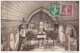87 - SAINT PRIEST TAURION / INTERIEUR DE L'EGLISE - Saint Priest Taurion