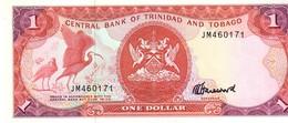 Trinidad & Tobago P.36c 1 Dollar 1985 Unc - Trinidad & Tobago