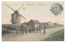 51 - AMBONNAY - Le Moulin à Vent - Belle Animation - Autres Communes