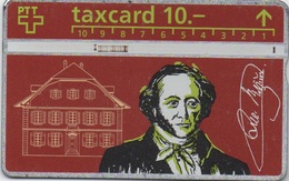 Taxcard Suisse : Jeremias Gotthelf 1797-1854 - Personnages