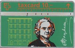 Taxcard Suisse : Jean Jacques Rousseau 1712-1778 - Personnages