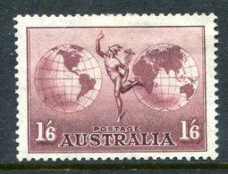 Australia 1934-48 Hermes - P.13½ X 14 - Thin Paper - HM (SG 153ab) - 1913-36 George V: Sonstige Abb.