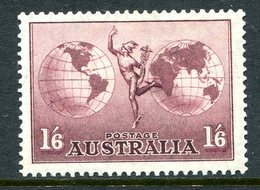 Australia 1934-48 Hermes - P.13½ X 14 - Thin Paper - HM (SG 153ab) - Mint Stamps
