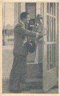 Telefooncel Romantiek (telefonie) (telefoon) PTT  (het Zichtbare Raster Is Veroorzaakt Door Het Scannen) - Postkaarten