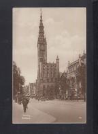 Danzig AK Rathaus 1929 Gelaufen - Danzig