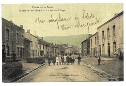 Hautes Rivieres Le Bas Du Village Edition Des Comptoirs Français (Carte Toilée En Couleur) - Autres Communes