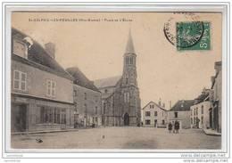 87 - SAINT SULPICE LES FEUILLES / PLACE DE L'EGLISE - Saint Sulpice Les Feuilles