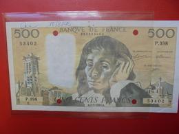 FRANCE 500 FRANCS 1993 ANNULER LE 12-8-94   (F.1) - 1962-1997 ''Francs''
