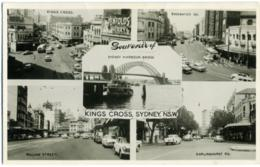 AUSTRALIA  SYDNEY  Souvenir Of..  Kings Cross  Multiview  Harbour Bridge Bayswater William Street Darlinghurst - Sydney