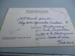 LETTRE DE PRISONNIER DE GUERRE CAMP DE RAWA RUSKA STALAG 325 GOUVERNEMENT GENERAL POLOGNE 27/09/42 - 1939-45