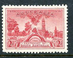 Australia 1936 Centenary Of South Australia - 2d Carmine HM (SG 161) - 1913-36 George V : Other Issues