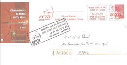 2003 EMA  Championnats Du Monde De Tir à L'Arc : Nîmes.Entier Postal - Tiro Con L'Arco