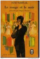 Stendhal -Le Rouge Et Le Noir -présenté Par Roger Nimier - Bücher, Zeitschriften, Comics