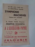 AMIENS : La Grande Vedette Hongroise MARTHA  EGGERTH Sera Présenté à L'excelsior - Pathé à AMIENS - Amiens